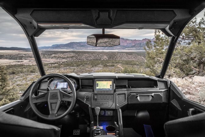 2018 Polaris General 1000 EPS Ride Command Interior