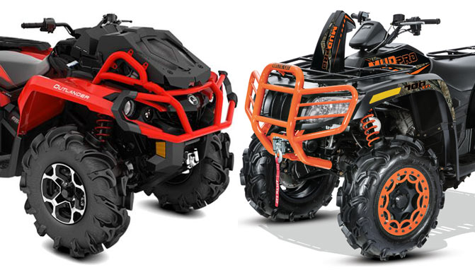 2018 Arctic Cat Mudpro 700 Limited Vs Can Am Outlander X