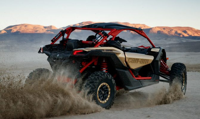 Can-Am Maverick X3 X RS Rear