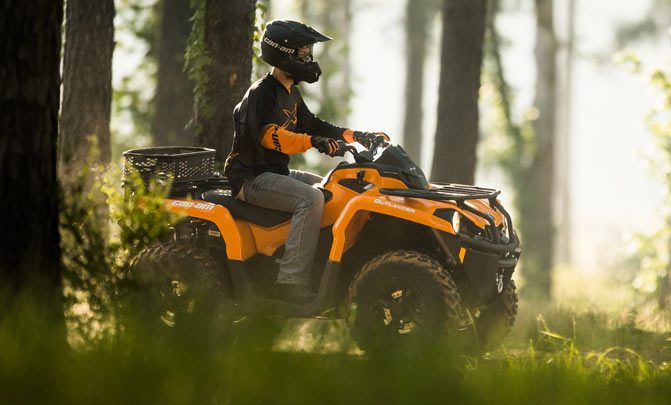 Can-Am Outlander 450 Woods