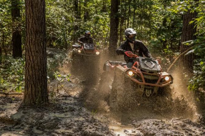 Can-Am Outlander X MR 650 Action