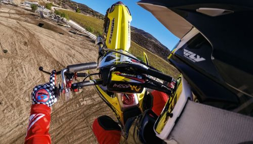 gopro helmet mount atv hero action profile low side gps cameras session systems capturing rides six motocross five camera mounted