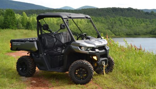 2017 Can-Am Defender HD10 XT Review + Video