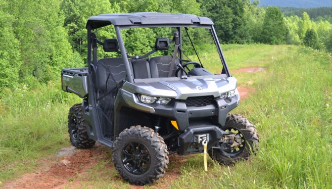 2017 Can-Am Defender XT Front Right