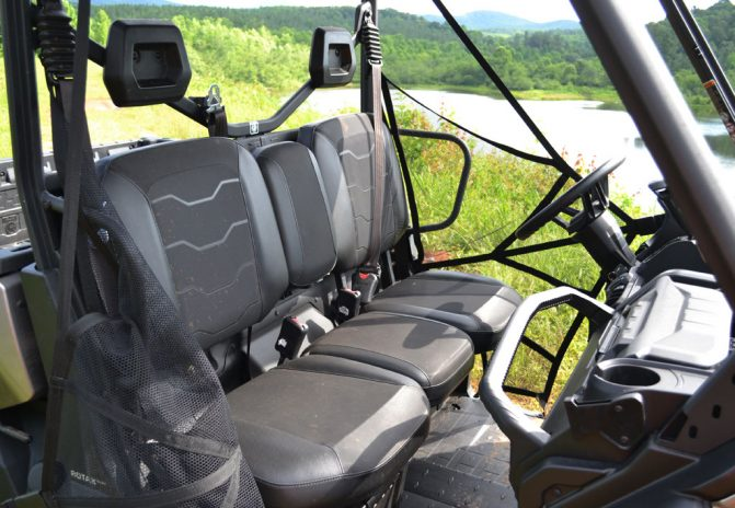2017 Can-Am Defender XT Seat