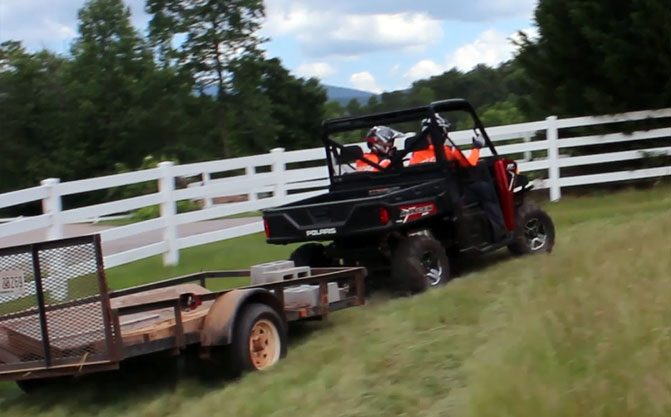2017 Polaris Ranger XP 1000 EPS Towing Rear