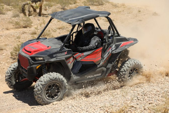 2018 Polaris RZR XP Turbo EPS Dynamix Cornering