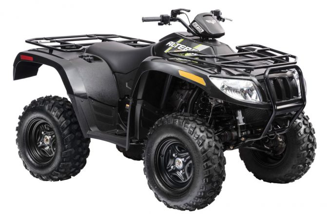 2018 Textron Off Road Alterra VLX 700 EPS Front Right
