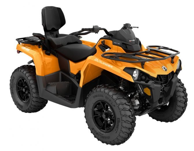 These cheap four wheelers don't skimp on quality: Can-Am Outlander MAX 450 DPS