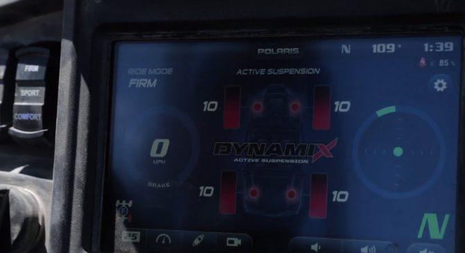 Dynamix Active Suspension Firm Mode