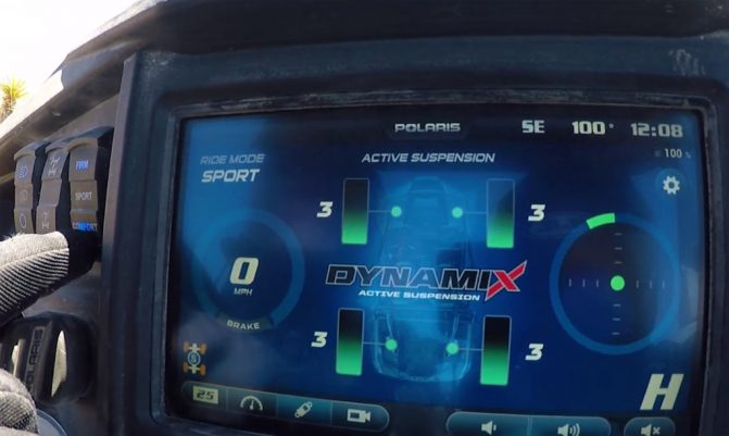 Dynamix Active Suspension Sport Mode