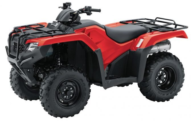 These cheap four wheelers don't skimp on quality: Honda FourTrax Rancher 4x4