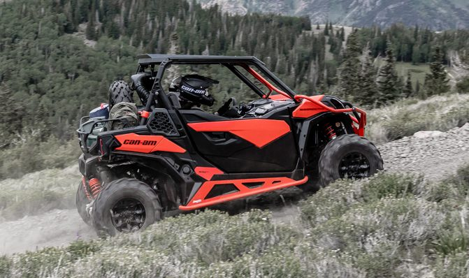 2018 Can-Am Maverick Trail 1000 DPS 2