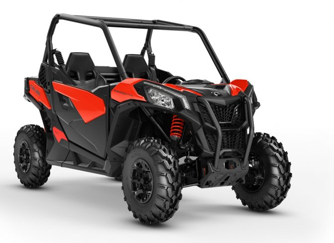 2018 Can-Am Maverick Trail 1000 DPS Studio