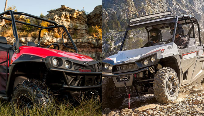 2018 Mahindra Mpact 750 S Vs Textron Off Road Stampede