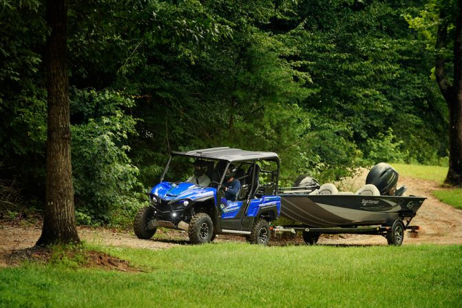 2018 Yamaha Wolverine X4 Towing