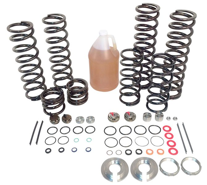 Spring and Valve Kit: Polaris RZR Suspension