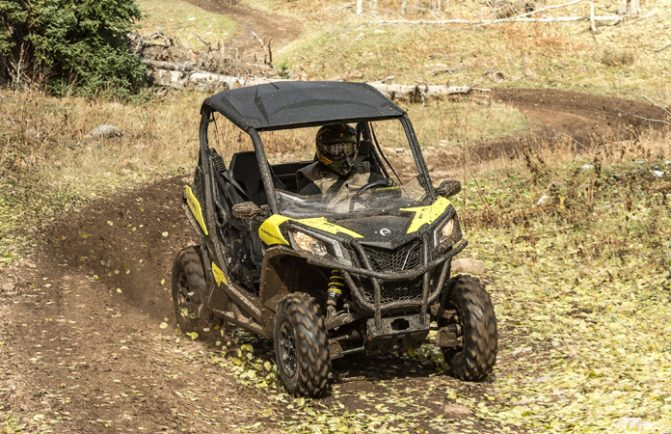 2018 Can-Am Maverick Trail 1000 Action 1