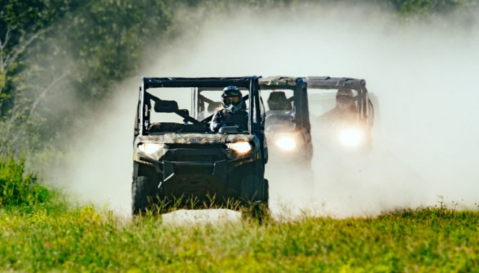 2018 Polaris Ranger XP 1000 Action