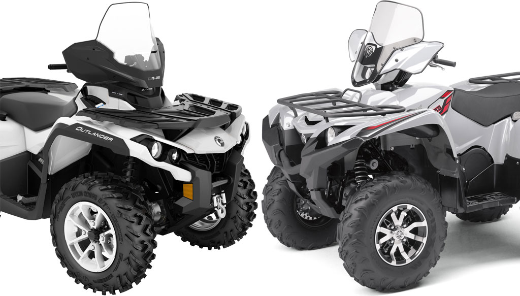 Can am vs honda atv reviews