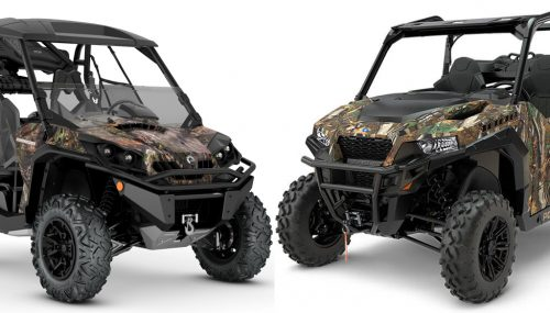 2018 Can-Am Commander Mossy Oak Edition vs. Polaris General Hunting Edition: By the Numbers