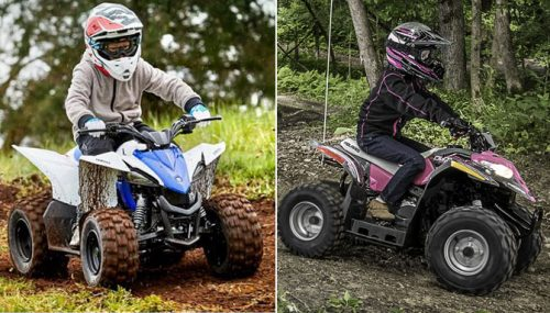 2018 Yamaha YFZ50 vs. 2018 Polaris Outlaw 50: By the Numbers