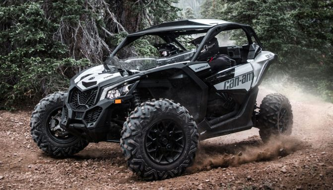 Can-Am Maverick Turbo: Most Powerful Sport UTVs