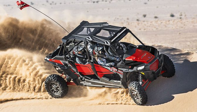Polaris RZR XP Turbo: Most Powerful Sport UTVs