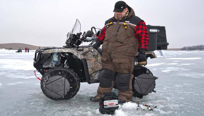 Gearing Up Your Atv For Ice Fishing Atv Com