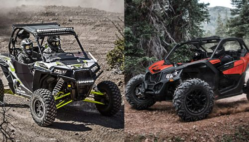 2018 Can-Am Maverick X3 900 HO vs. Polaris RZR XP 1000: By the Numbers