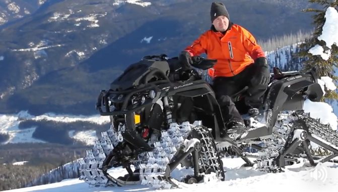 check     apache backcountry track system  action video atvcom
