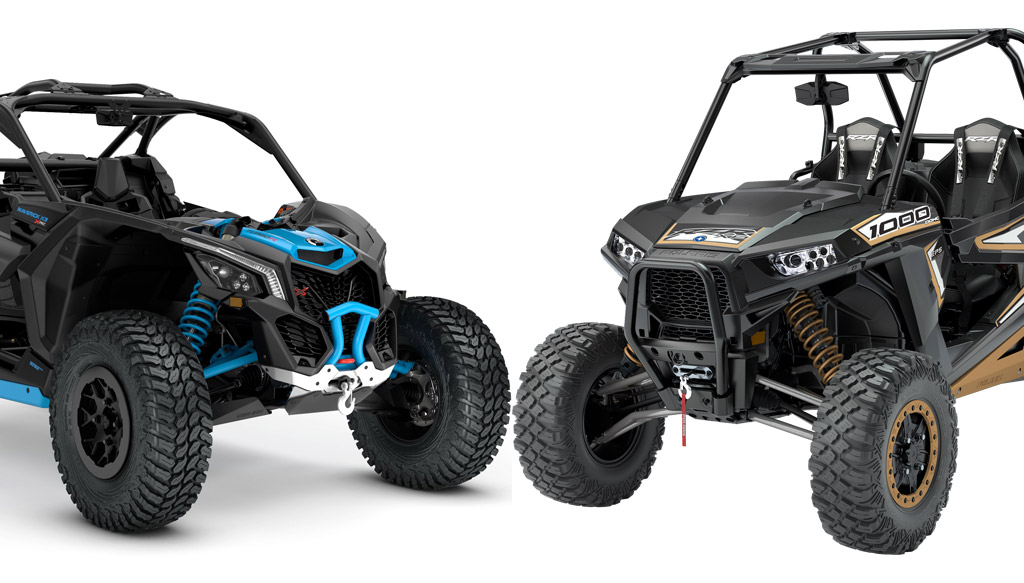 2018 Can Am Maverick X3 X Rc Turbo R Vs Polaris Rzr Xp