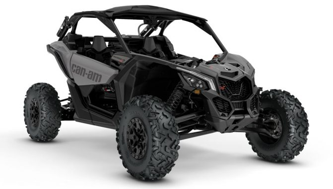 Best ATVs and UTVs of 2017: 2018 Can-Am Maverick X3 X rs Turbo R Platinum Satin