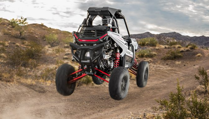 2018 Polari -RZR RS1 Action Rear