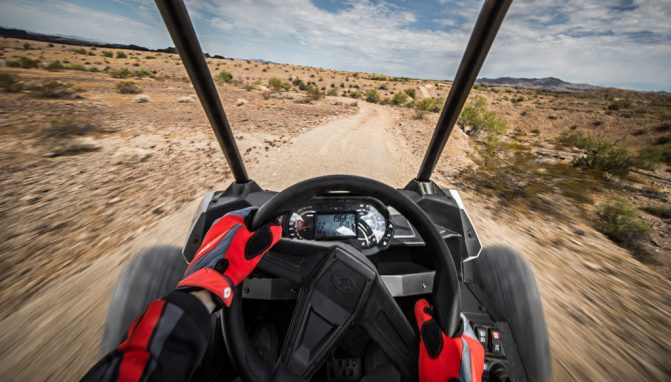 2018 Polari -RZR RS1 Cockpit