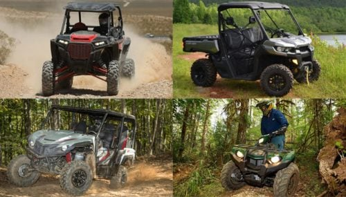 Best ATVs and UTVs of 2017