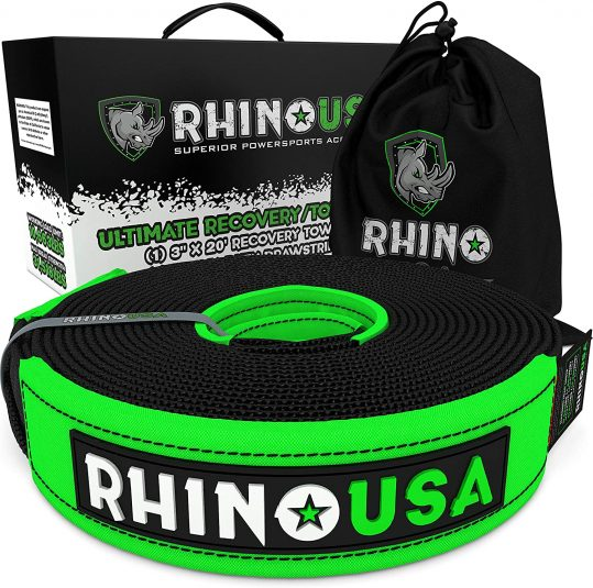 Rhino Recovery Tow Strap