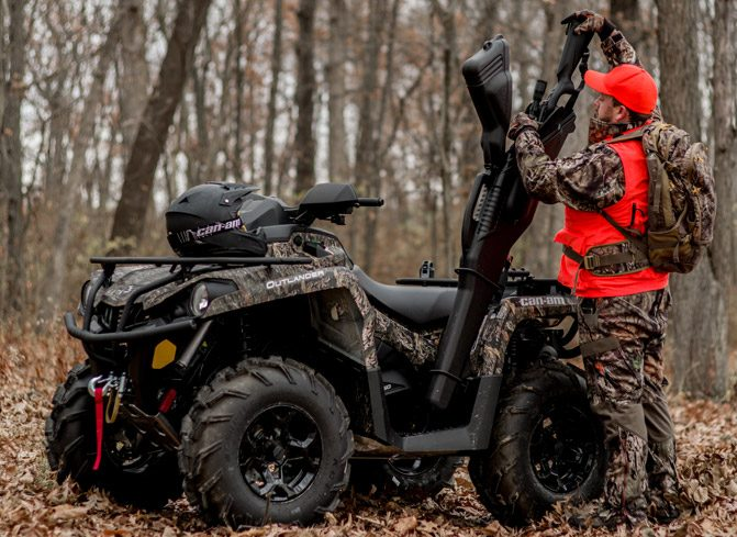 2018 Can-Am Outlander 570 Mossy Oak Gun Boot