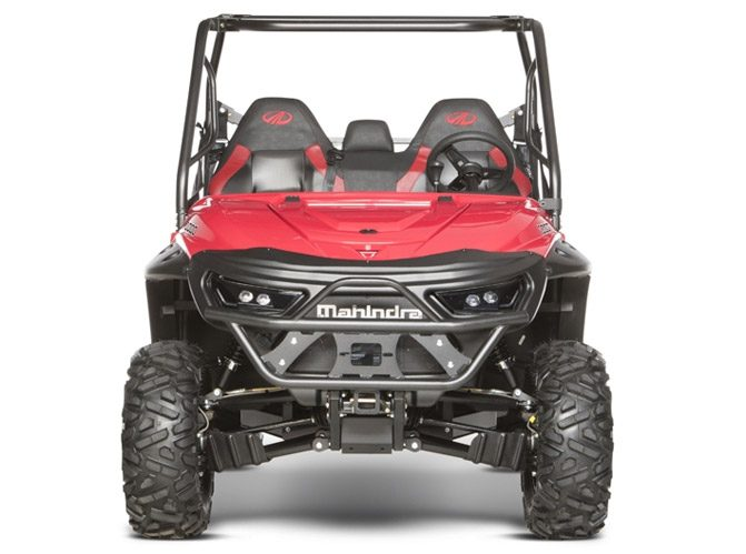 2018 Mahindra Retriever 1000 Front