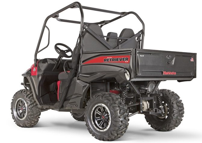 2018 Mahindra Retriever 1000 Left Rear