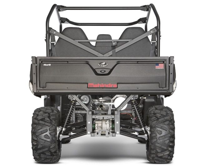 2018 Mahindra Retriever 1000 Rear