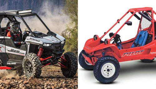 2018 Polaris RZR RS1 vs. 1990 Honda Pilot FL400: By the Numbers