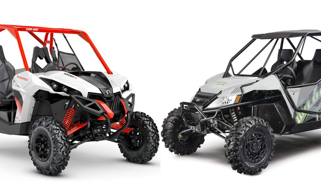 2018 Can Am Maverick Dps Vs 2018 Textron Wildcat X Ltd