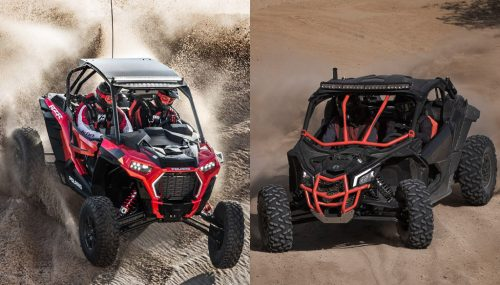 2018 Polaris RZR XP Turbo S vs. Can-Am Maverick X3 X RS Turbo R: By the Numbers