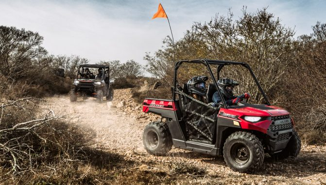 2018 Polaris Ranger 150 Action 1