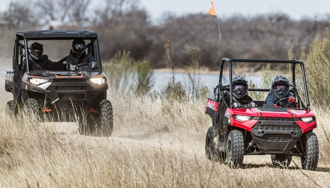 2018 Polaris Ranger 150 Action 2
