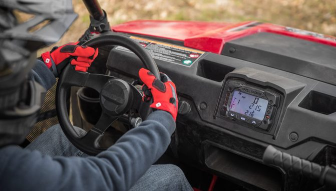 2018 Polaris Ranger 150 Cockpit