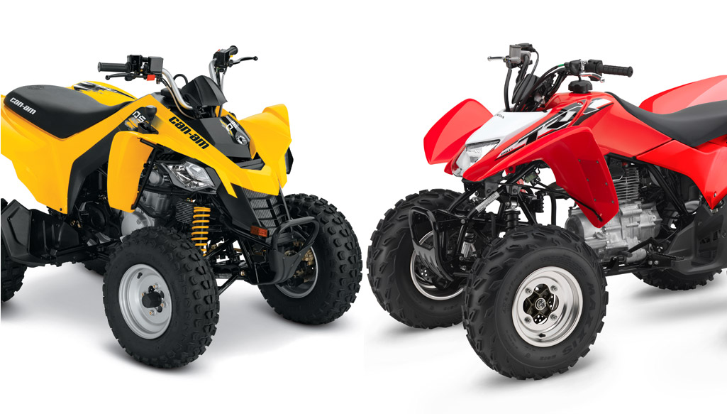 2018 Can-Am DS 250 vs. Honda TRX250X: By the Numbers - ATV.com