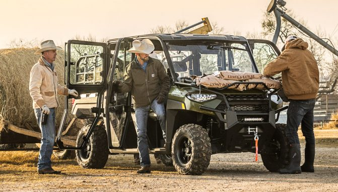 2019 Polaris Ranger Crew XP 1000 3