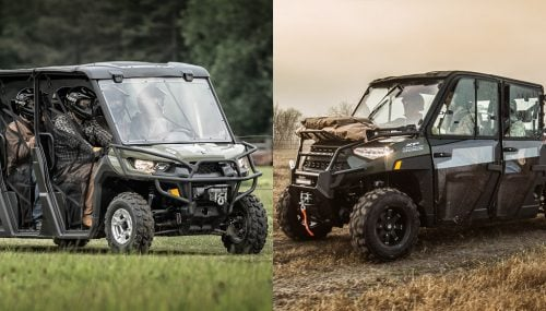 2019 Polaris Ranger Crew XP 1000 vs. Can-Am Defender MAX DPS HD10: By the Numbers